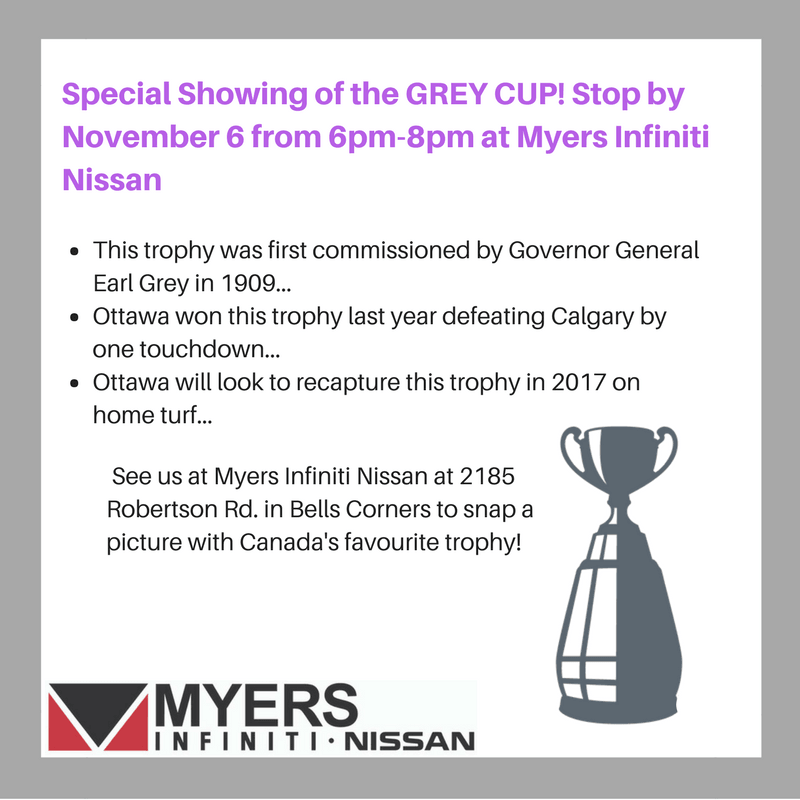 Special Grey Cup showing Nov.6th